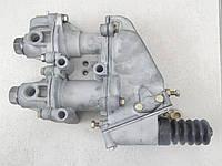 Главный  тормозной кран  ГТК 2-х секционный  ЗИЛ-130, Т-150