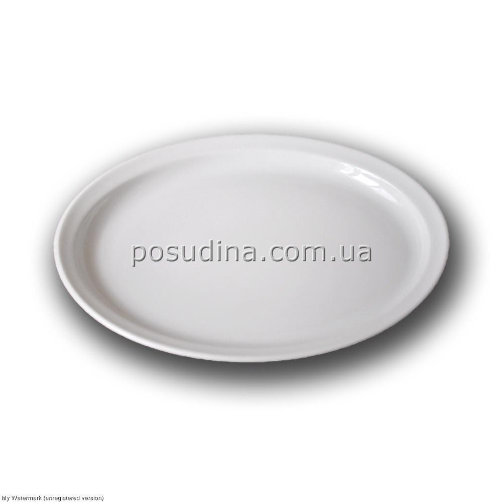 Блюдо овальное фарфоровое Farn с узким бортом 250*200