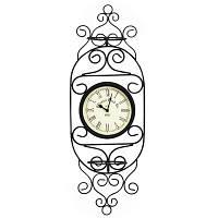 Односторонние садовые часы Adam Garden 051-15 с двумя подставками для цветов