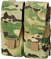 Подсумок Defcon 5 PORTA CARICATORE DOPPIO MOLLE M4/AK DOUBLE MULTICAMO ц:мультикам