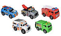 Набор машинок специального назначения Toy State Mini City Service Vehicles