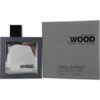 Мужская парфюмерия Dsquared2 He Wood Silver Wind Wood (Дискваред2 Хи Вуд Сильве Винд Вуд) EDT 100 ml