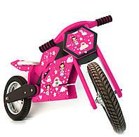 Беговел (велобег) спортивный Jacka розовый