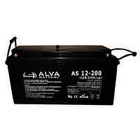 Аккумуляторная батарея Alva AS12-200 (200Ачас/12В)
