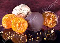 Конфеты ручной работы «Мандарин в шоколаде»