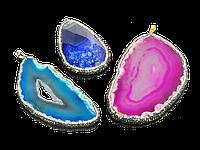 Кулоны из натуральных камней