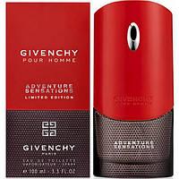 Мужской парфюм Givenchy Pour Homme Adventure Sensations (Живанши Пауэр Хоум Эдвенче Сенсейшенс) EDT 50 ml
