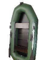 Лодка надувная Омега 245, регулируемые сидения, транец, жесткое дно