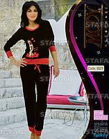 Женский комплект кофта+лосины Турция. MODY 9521-R. Размер 44-46.