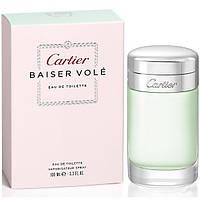 Женский парфюм Cartier Baiser Vole Eau de Toilette (Картье Бэйзи Воль) EDT 100 ml