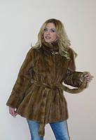 красивая и модная норковая шубка для модницы