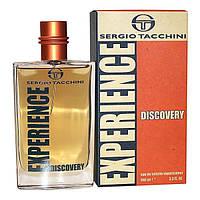 Мужская парфюмерия Sergio Tacchini Experience Discovery (Серджио Тачини Экспириенс Дискавери) EDT 100 ml