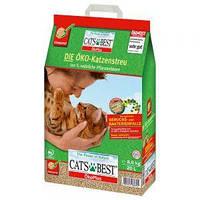 Cat's Best (Кетс Бэст) Oko plus 20л- наполнитель для кошачьего туалета