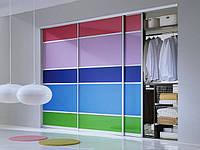 Встроенная ниша цветное стекло