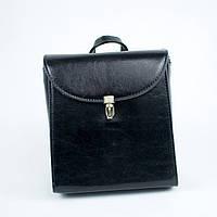 Женская модная черная сумка рюкзак