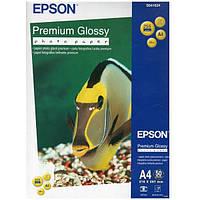 Фотобумага Epson Premium Glossy Photo Paper Глянцевая 255г/м кв, А4, 50л (C13S041624)