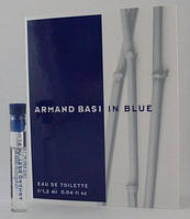 Armand Basi In Blue vial (Пробник Арманд Баси Ин Блу) EDT 1.2 ml