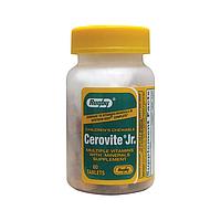 Rugby Cerovite Jr.  Детские жевательные Витамины и минералы  - 60  шт