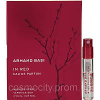 Armand Basi In Red vial (Пробник Арманд Баси Ин Ред) EDP 1.5 ml