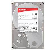 "Жесткий диск для компьютера 3.5"" 3 Тб/Tb Toshiba P300, SATA3, 64Mb, 7200 rpm (HDWD130UZSVA), винчестер hdd"