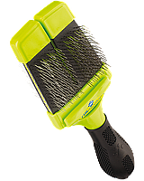 Пуходерка Furminator Small Soft Slicker Brush S двухсторонняя мягкая, фото 1