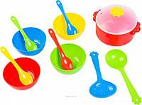 Набор игрушечной посуды столовый Ромашка 12 элементов Тигрес