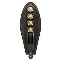 Светодиодный уличный светильник 200W IP65 6400К 18000lm ST-200-04 с линзой, фото 1