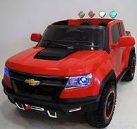 Детский электромобиль Chevrolet А1602, 4 Х 45W, красный