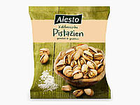 Соленые фисташки Alesto Pistazien 500h.