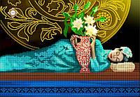"""Схема для вышивки бисером """"Сон гейши"""""""