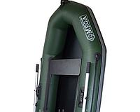 Надувная лодка Омега 190 одноместная, сдвижные сидения