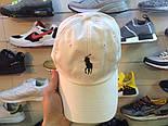 Кепка Cap by Ralph Lauren белая. Живое фото! (Реплика ААА+), фото 2