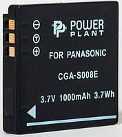 Аккумулятор PowerPlant Panasonic CGA-S008, DB-70 (Акция!!! Карандаш для чистки оптики PowerPlant за пол цены)