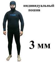 Пошив гидрокостюмов для подводной охоты KATRANGUN 3 мм