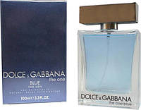 Мужская парфюмерия Dolce & Gabbana The One Men Blue (Дольче Габбана зэ ван мэн блу) EDT 100ml