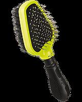 Щетка Furminator Dual Brush для собак двухсторонняя массажная, фото 1
