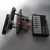 Электро-секс черная акриловая шаровая дробилка Attachment