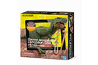 Набор для опытов Тиранозавр Рекс ДНК динозавра 4М