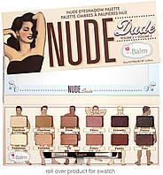 Палетка теней для век the BALM Nude Dude