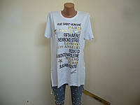 Новинка! футболка удлиненная женская! Турция! в наличии! s m l xl!