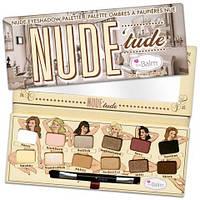Палетка теней для век  the BALM Nude 'tude