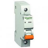 Автоматический выключатель ВА 63,1Р,25А,С (домовой) Schneider Electric