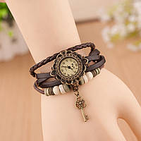 Часы Ключ Браслет для Девушек Кварцевые Наручные Часы