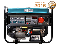 Бензиновая электростанция Konner&Sohnen KS 7000E-3 (3ф, 5,5 кВт)