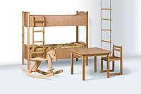 Мебель и игрушки из дерева