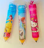 Пенал Пластиковый Тубус-карандаш 18,67 Китай