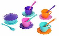 Детская посудка Ромашка Люкс (16 предметов) Тигрес