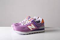 Женские кроссовки New Balance Purple (Нью Бэлэнс) фиолетовые