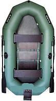 Гребная надувная лодка Bark (Барк)В-260N с транцем, реечным настилом