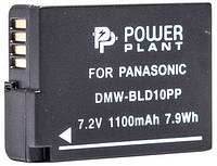 Аккумулятор PowerPlant Panasonic DMW-BLD10PP 1100 (Акция!!! Карандаш для чистки оптики PowerPlant за пол цены)